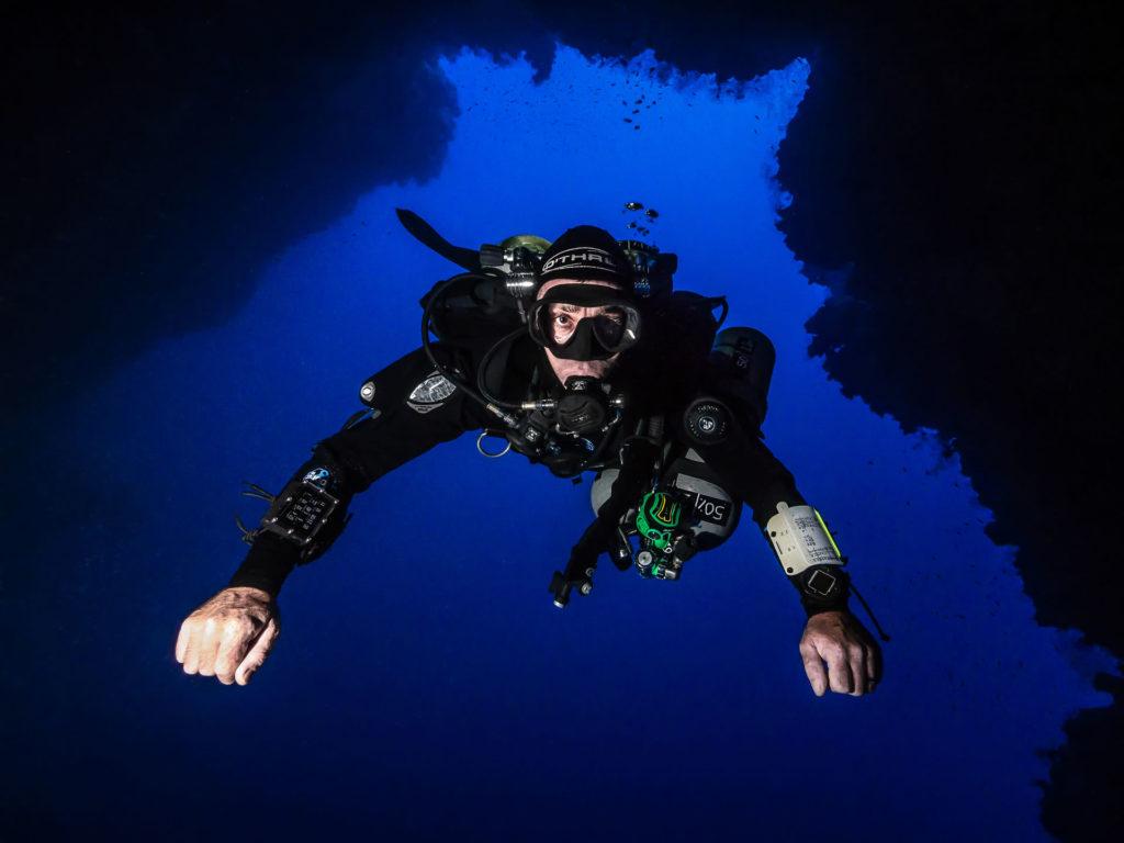 tech diver dahab